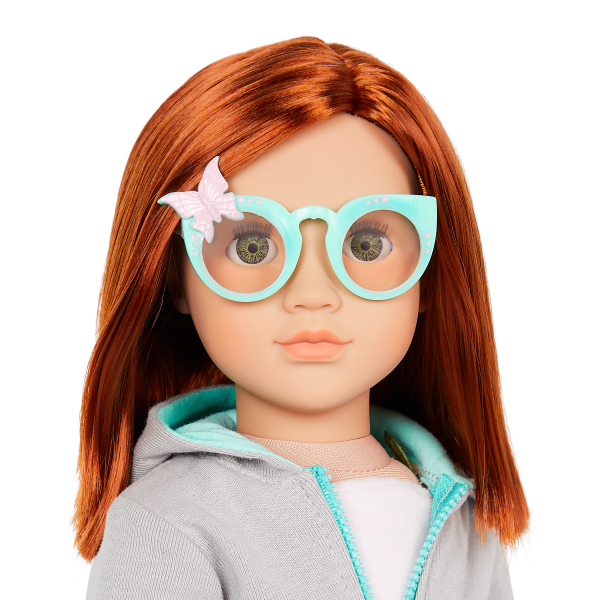 Our Generation 18-inch Fashion Doll Cambi Butterfly Sunglasses