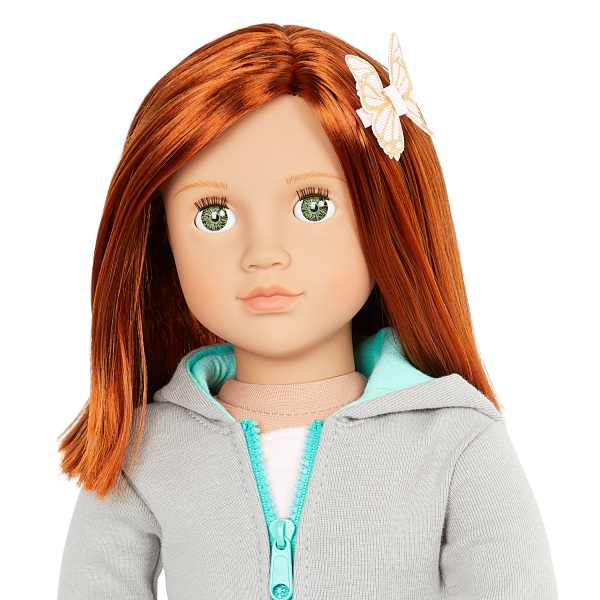 Our Generation 18-inch Fashion Doll Cambi Red Hair Green Eyes