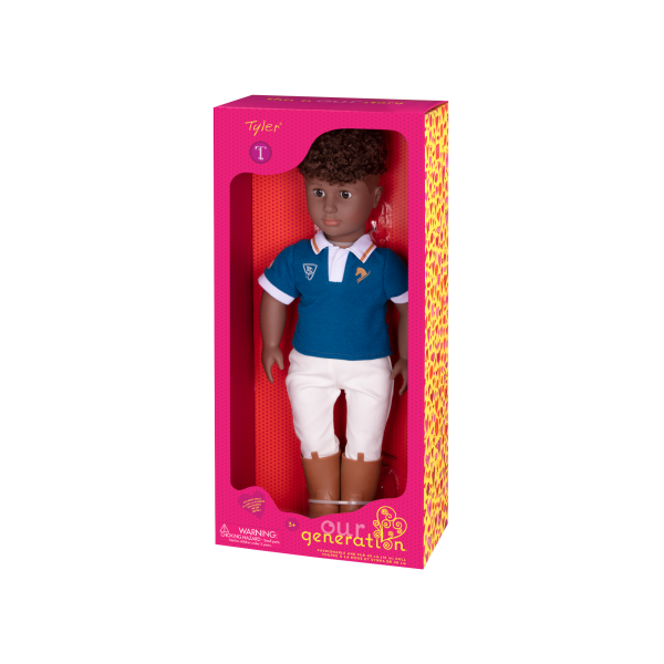 Our Generation 18-inch Boy Doll Tyler Packaging