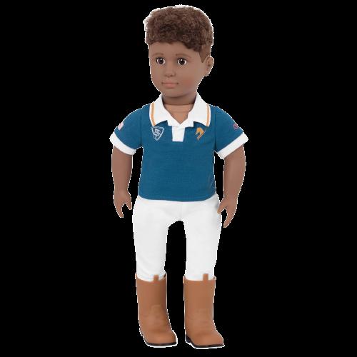 Tyler 18-inch Boy Doll Equestrian