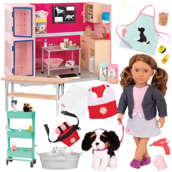 Our Generation Maddie & Healthy Paws Vet Clinic Bundle