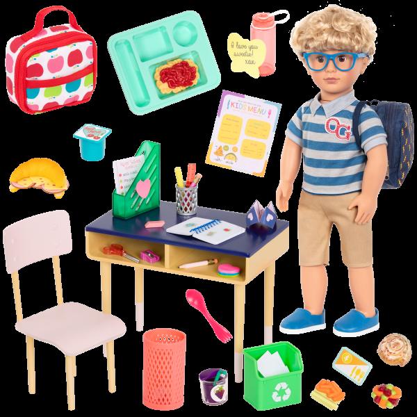 Our Generation Leo & Brilliant Bureau School Bundle