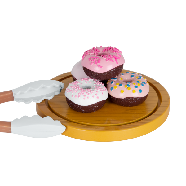 Our Generation Baker's Kitchen Set Donut Accessories for 18-inch Dolls