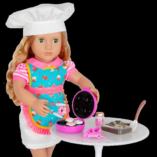 Our Generation Baker's Kitchen Set Donut Maker