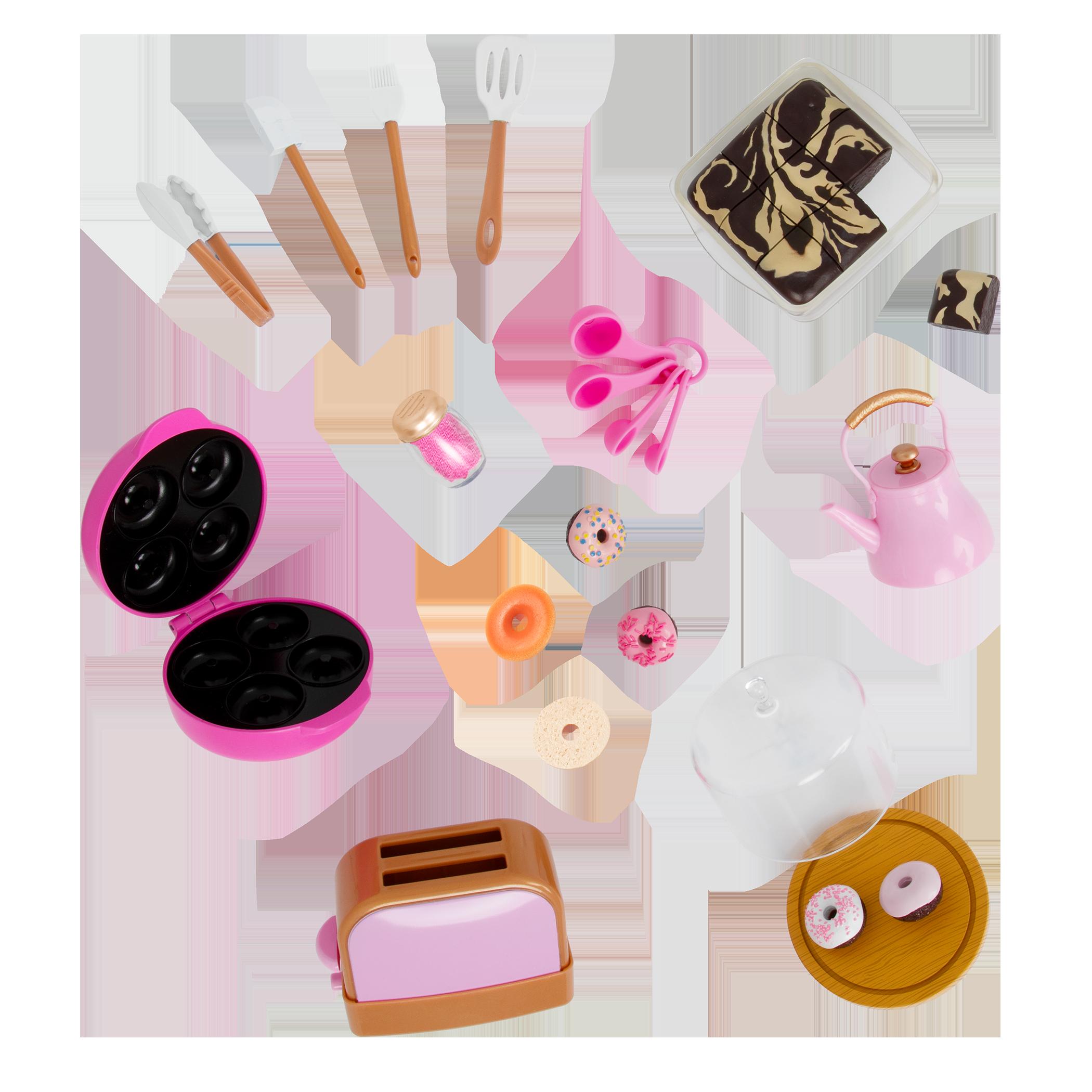 Our Generation Baker's Kitchen Set for 18-inch Dolls