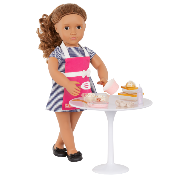 Our Generation In The Kitchen Set Cooking Accessories 18-inch Doll Isa