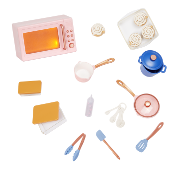 Our Generation In The Kitchen Set for 18-inch Dolls