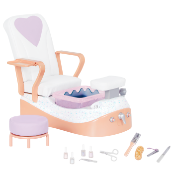 Our Generation Yay Spa Day Chair for 18-inch Dolls
