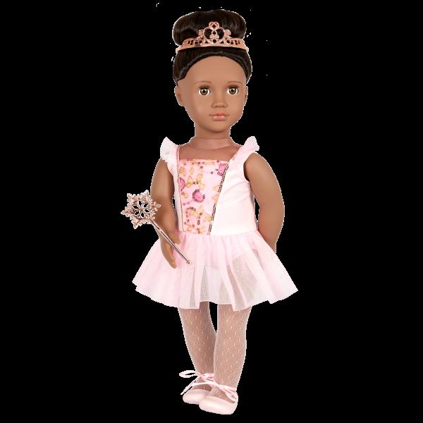 Our Generation 18-inch Sugar Plum Fairy Doll Ballerina Delmy
