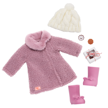 Our Generation Wonderfully Warm Coat Outfit for 18-inch Dolls