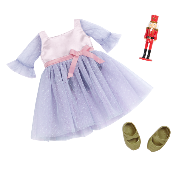 Our Generation Ballet Outfit & Nutcracker Accessory 18-inch Doll Clara
