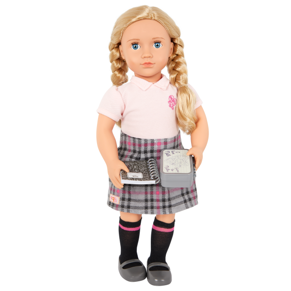 Our Generation Math Whiz Notebook 18-inch Doll School Accessories