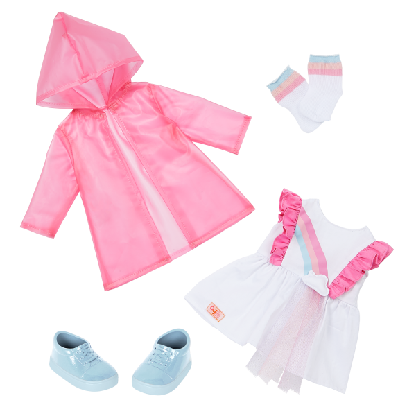 Our Generation Rainbow Sky Outfit for 18-inch Dolls