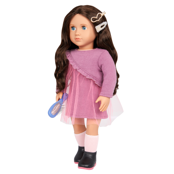 Our Generation Twirls & Pearls Hair Clip Set 18-inch Doll Accessories