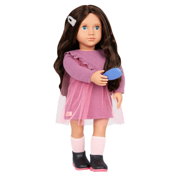 Our Generation Twirls & Pearls Hair Styling Accessories for 18-inch Dolls