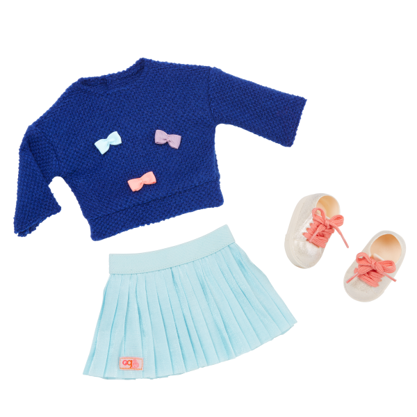 Our Generation Bright Bows Outfit for 18-inch Dolls