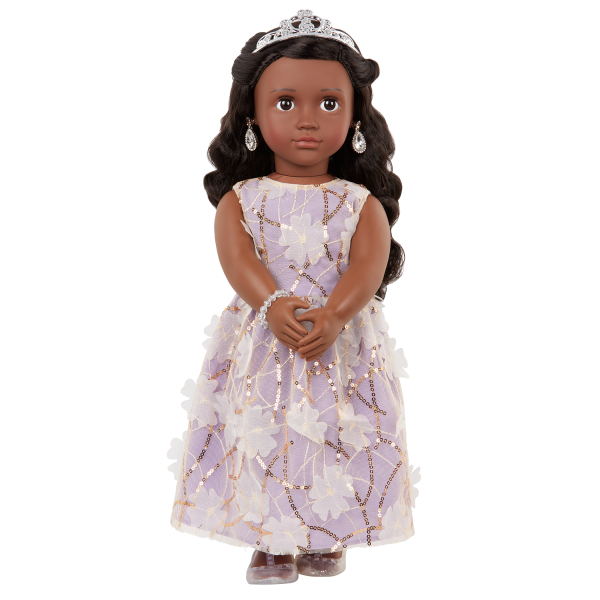 Our Generation 18-inch Special Event Doll Ambreal Brown Hair & Eyes