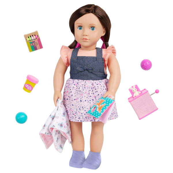 Our Generation 18-inch Babysitter Doll Katherine