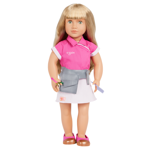 Our Generation Style Streak Hairdressing Accessories Outfit for 18-inch Dolls