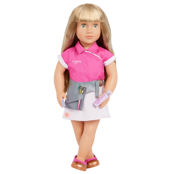 Our Generation Style Streak Hairdresser Outfit 18-inch Doll Lorelei