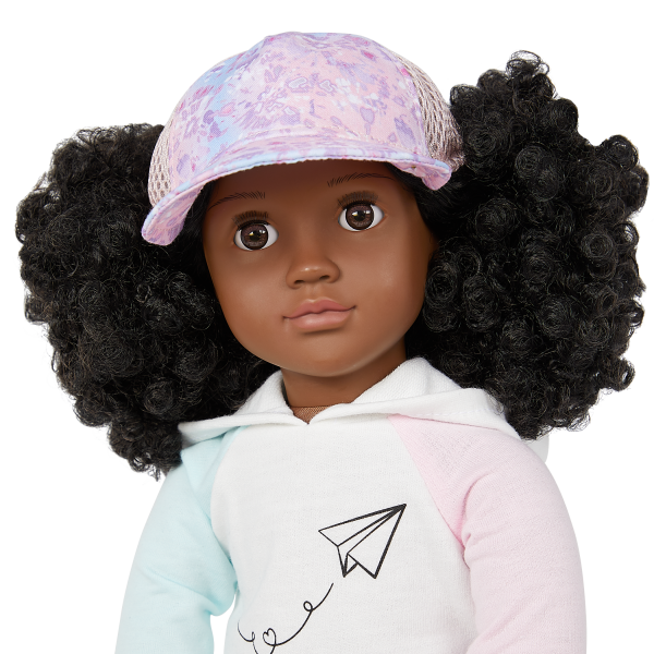Our Generation 18-inch Travel Doll Tyanna Cap Accessory
