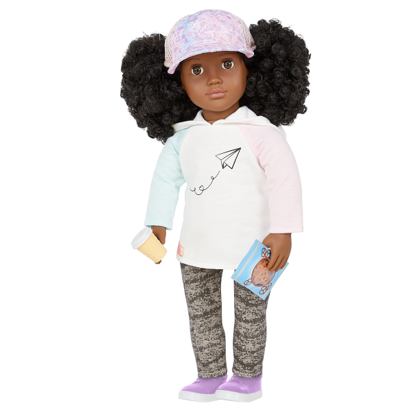 Our Generation 18-inch Travel Doll Tyanna Play Food Accessories