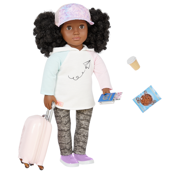 Our Generation 18-inch Travel Doll Tyanna
