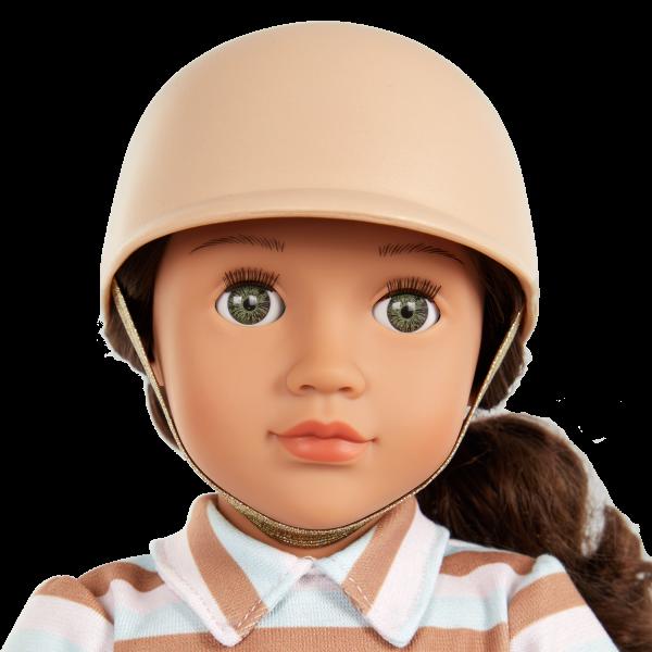 Our Generation 18-inch Equestrian Doll Aydan Brown Hair & Green Eyes