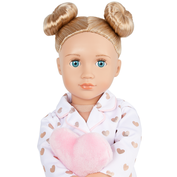 Our Generation 18-inch Slumber Party Doll Serenity Blonde Hair Green Eyes