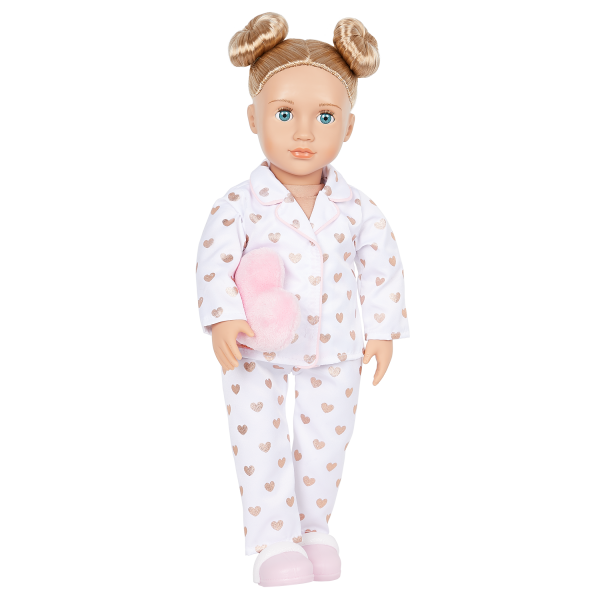 Our Generation 18-inch Slumber Party Doll Serenity Heart Pajama