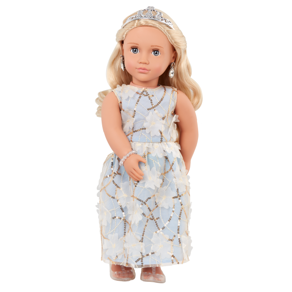 Our Generation 18-inch Special Event Doll Ellory Blonde Hair & Blue Eyes