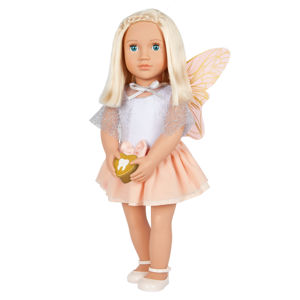 Our Generation Tooth Fairy Outfit Lost Tooth Case 18-inch Doll Accessories