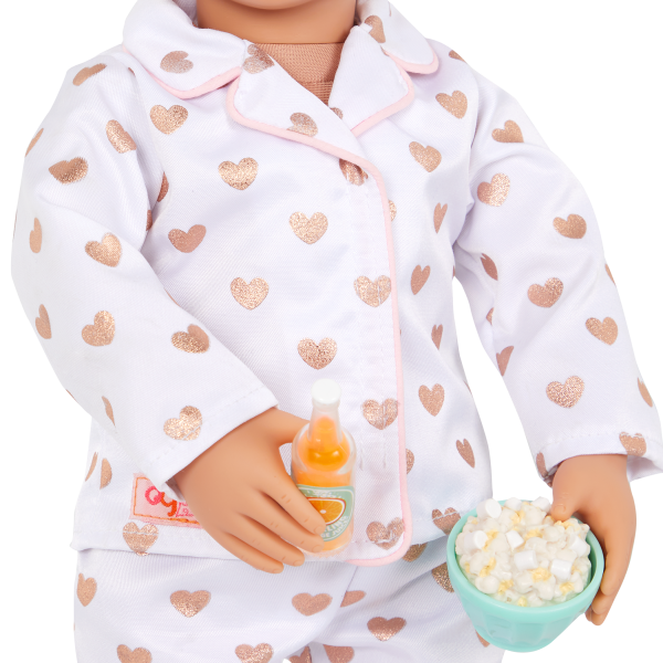Our Generation Slumber Party Set Play Food Popcorn for 18-inch Dolls