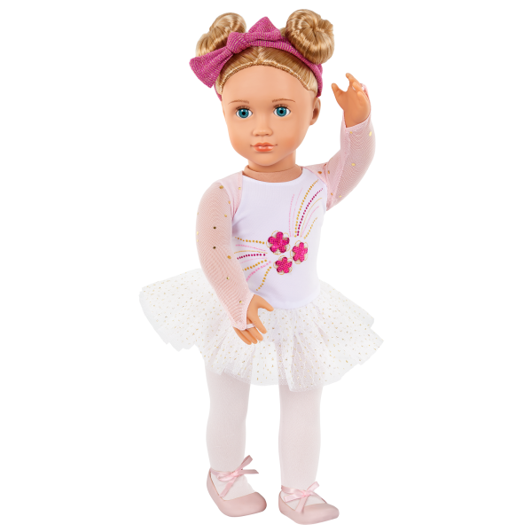 Our Generation Curtain Call Ballet Outfit Headband for 18-inch Dolls