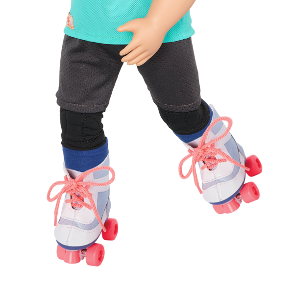 Our Generation Roll With It Roller Skates 18-inch Doll Accessories