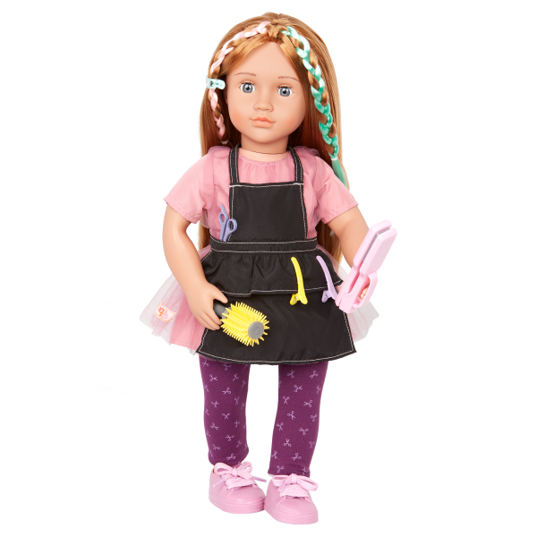 Our Generation Highlight My Day Hair Styling Set for 18-inch Dolls