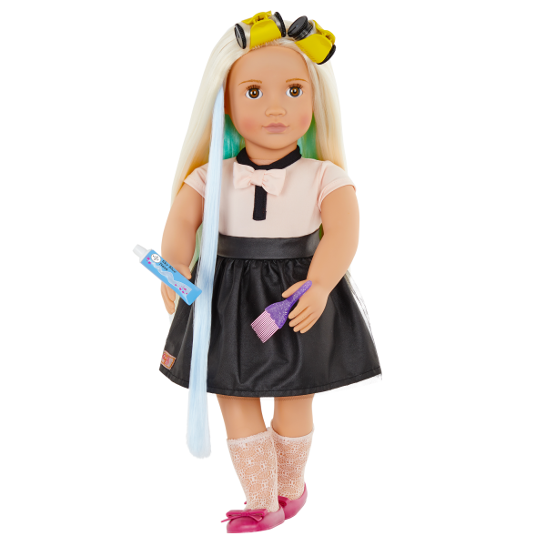 Our Generation Highlight My Day Hair Rollers for 18-inch Dolls