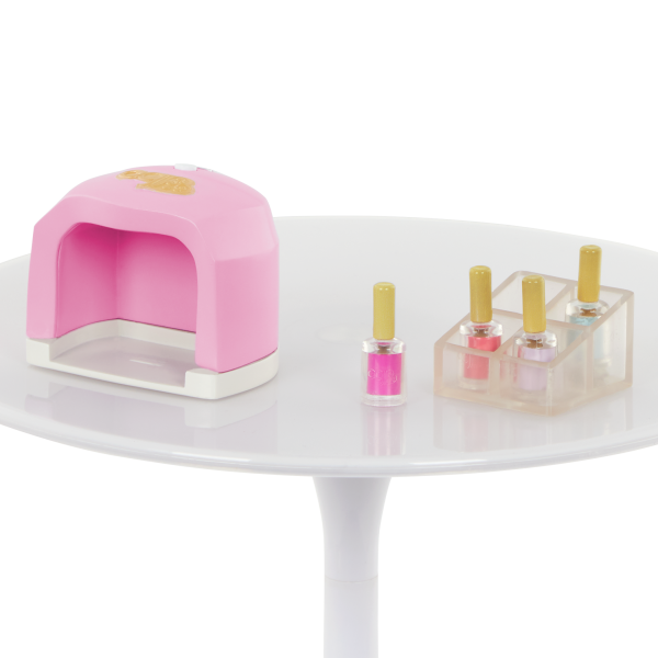 Our Generation Nail Salon Set Color Polish for 18-inch Dolls