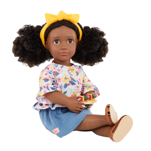 Our Generation Posable 18-inch Doll Macy Bendable Arms & Legs