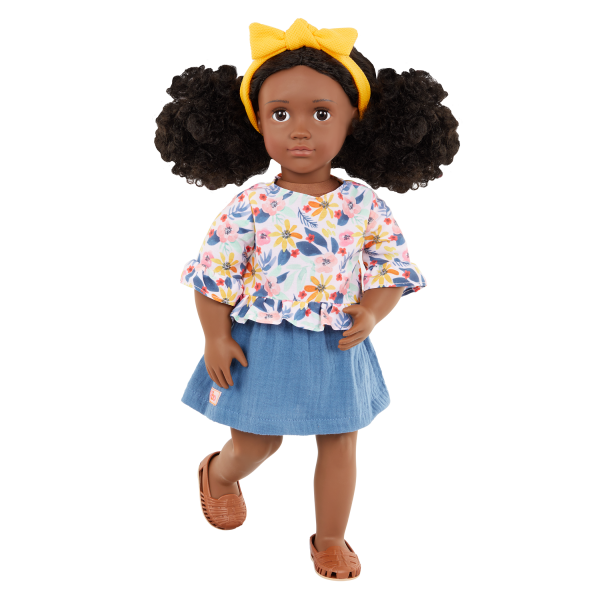 Our Generation Posable 18-inch Doll Macy Brown Hair & Eyes