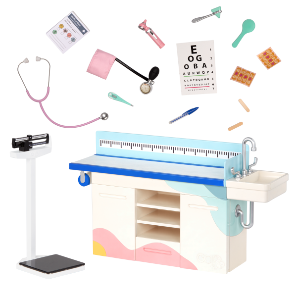 Our Generation Doctor Days Exam Table for 18-inch Dolls