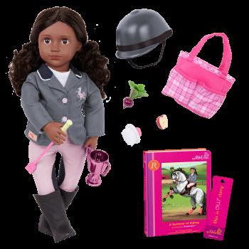 Our Generation Posable 18-inch Equestrian Doll Rashida