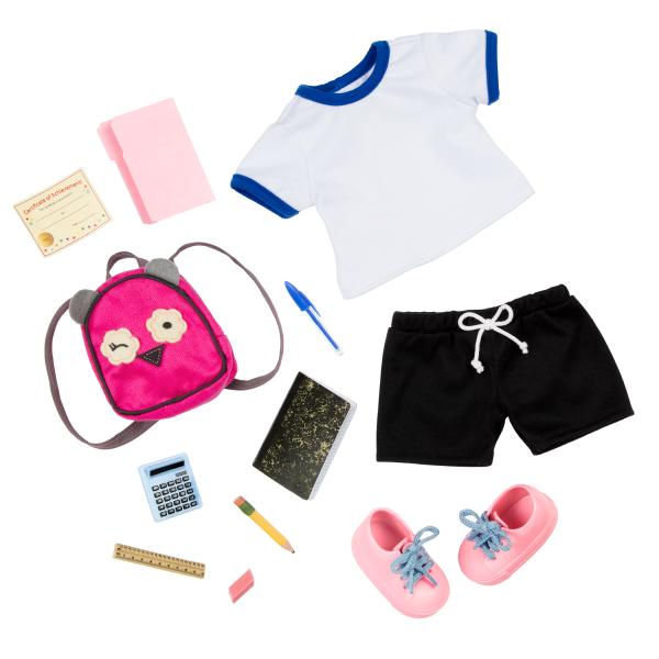 Our Generation 18-inch Doll Hally School Outfit