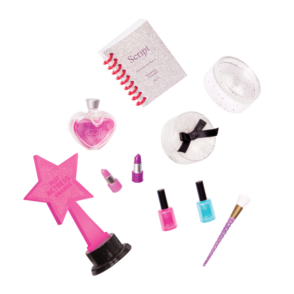 Our Generation Glitz & Glamour Vanity Pretend Makeup for 18-inch Dolls