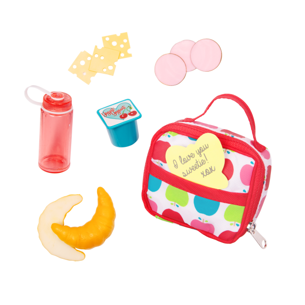 Our Generation Let's Do Lunch 18-inch Doll School Accessories