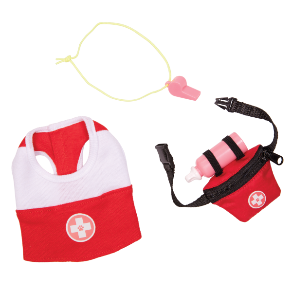 Our Generation Loveable Lifeguard Pet Outfit