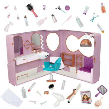 Our Generation Salon on Wheels Playset for 18-inch Dolls
