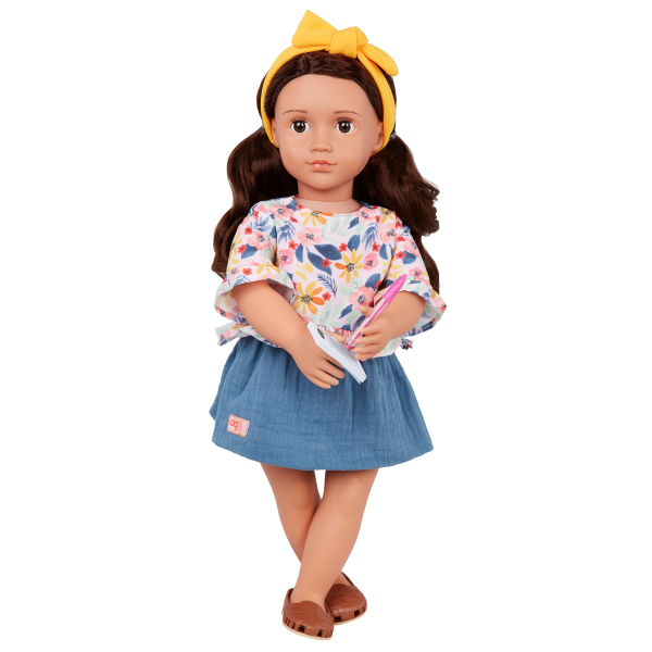 Our Generation Posable 18-inch Doll Rayna Order Pad