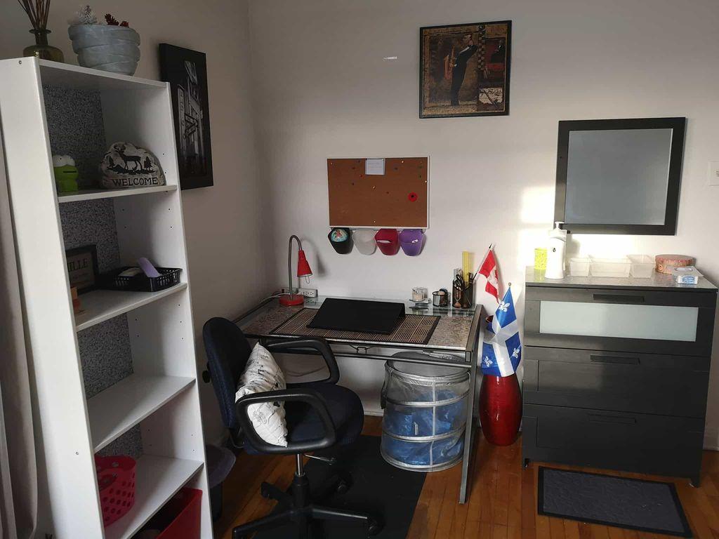 Chambre meublée avec charges comprises     WeMoove