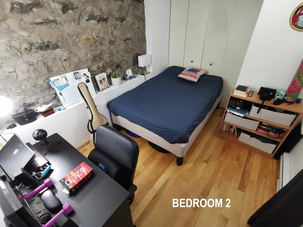 Cozy & luminous 4.5 semi-basement - Plateau | WeMoove